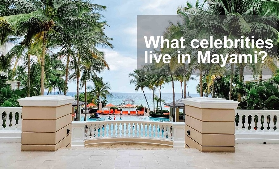 what celebrities live in miami
